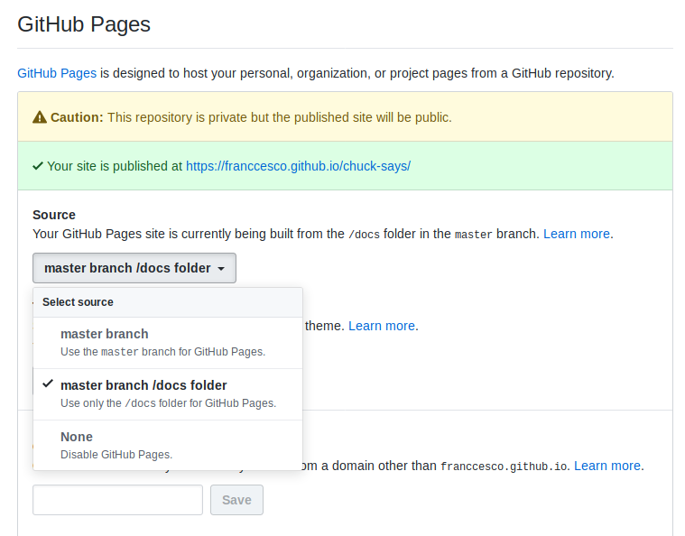 Create a Project Page for Your Repos Easily With Jekyll and